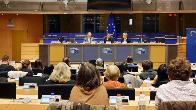 прожекция на филм Европейски парламент