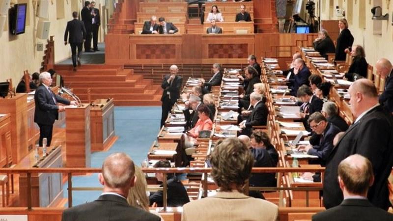 резолюция Чешки сенат Китай