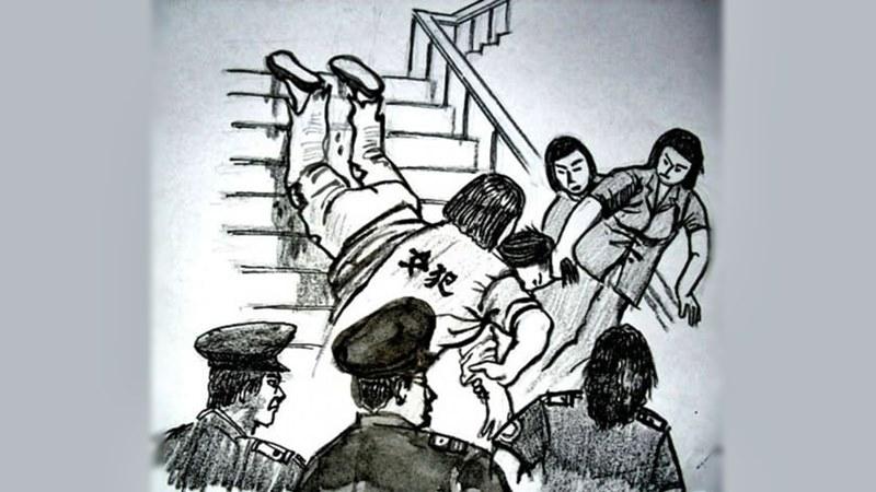 китайски затвор Фалун Гонг
