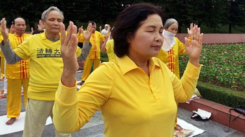 път към здравето Фалун Дафа медитация