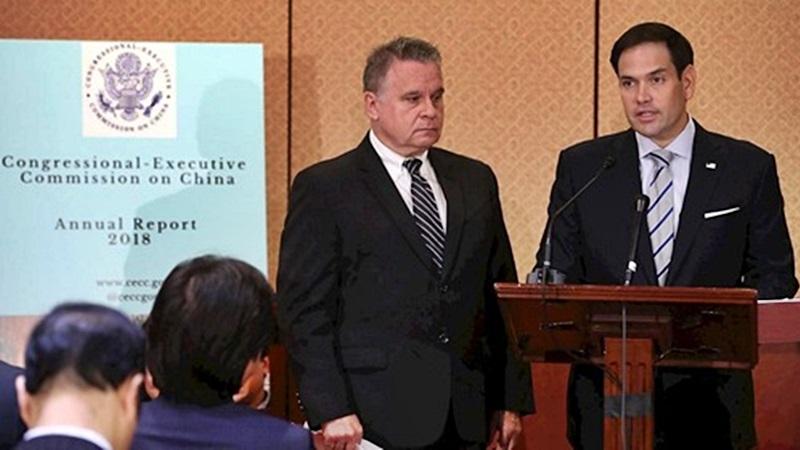 САЩ комисия доклад Китай репресии